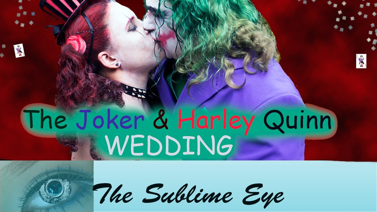 harley quinn marries the joker liveliest halloween wedding! bardi