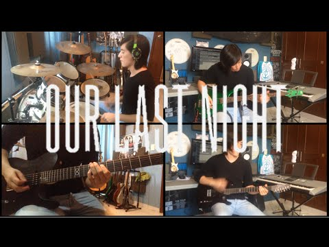 White Tiger - Our Last Night (Instrumental Cover) (Guitar Cover) (Bass Cover) (Drum Cover)