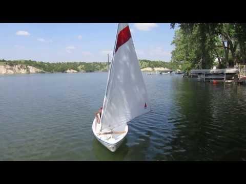 Cook Sailing Alone in Nebraska (7-13)