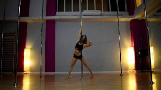 Pole Art Routine 110 Level 1 Mad World Jasmine Thompson
