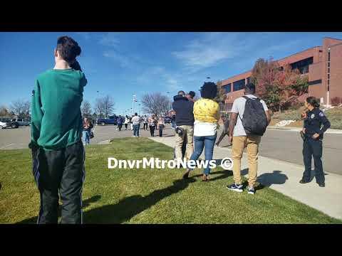 11/02/18 - Gun Threat at Rangeview High School in Aurora, CO