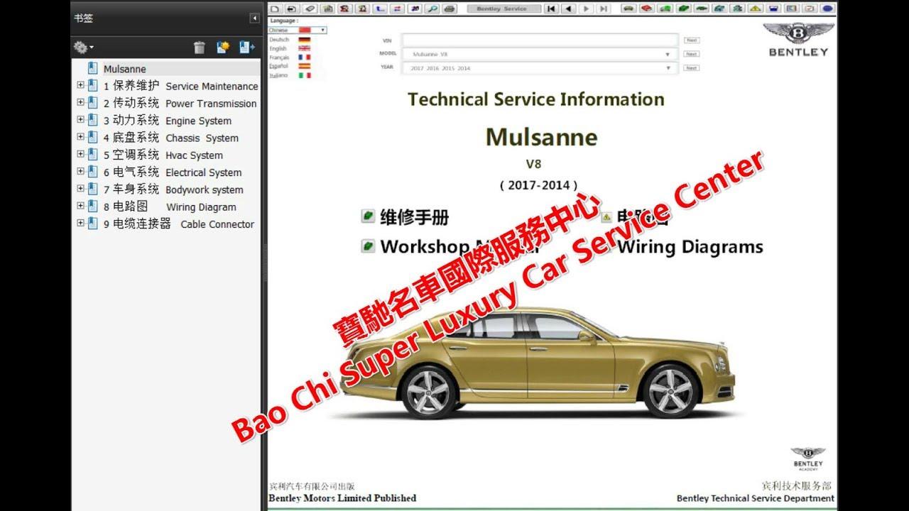 Bentley Wiring Diagrams Diagram All Data Rover V8 2019 2011 Mulsanne Workshop Repair Manual 2003 Jetta Ac Schematic