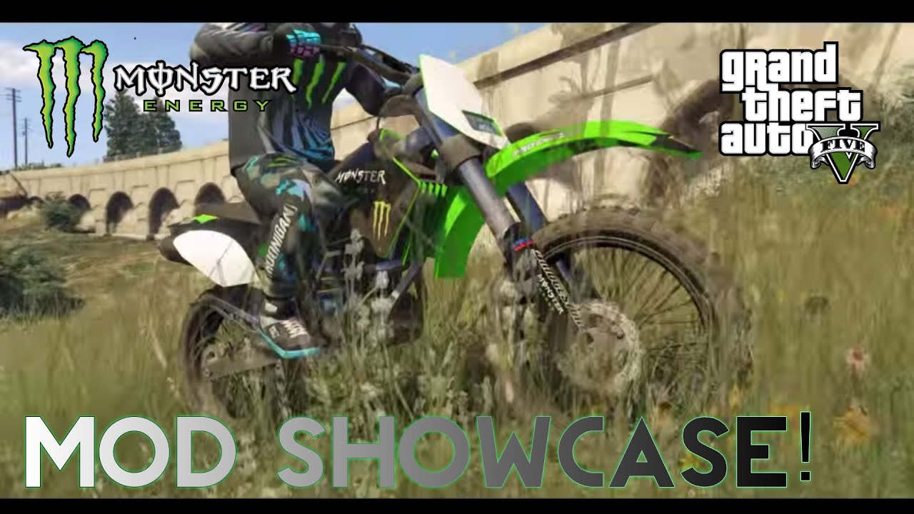 Gta Mods Ultimate Monster Energy Mods Showcase Cars Bikes