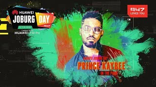 Prince Kaybee at Huawei Joburg Day in the Park
