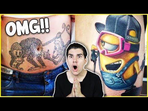 Most Creative Tattoos People Got! (INSANE)