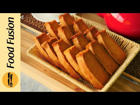 Cake Rusk Recipe By Food Fusion