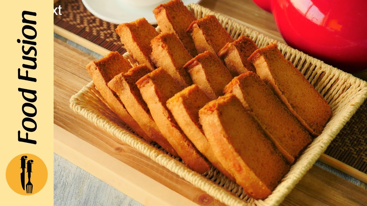 Cake Rusk Recipe By Food Fusion Youtube