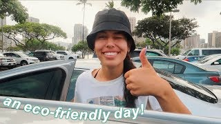 living an eco-friendly day *island edition*