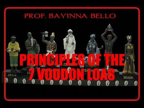 PRINCIPLES OF THE 7 VOUDON LOA