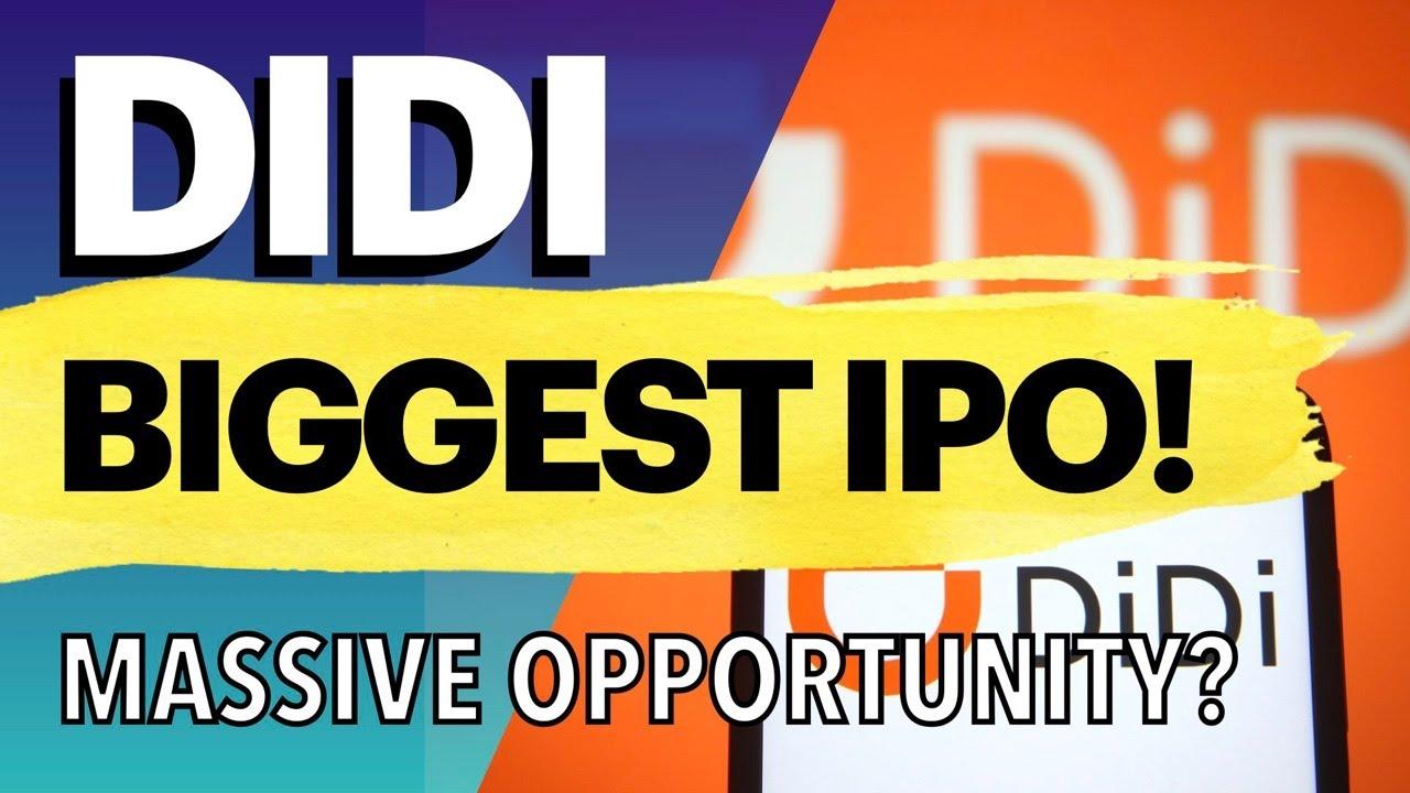 Didi IPO Raises $4.4 billion For The 'Uber Of China'