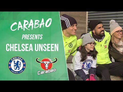 CHELSEA UNSEEN: Featuring Costa funnies, Willian showing off & Kante free kicks!