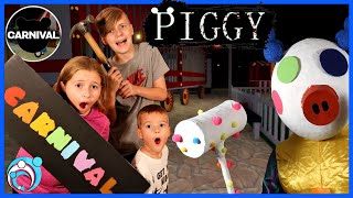 Roblox PIGGY In Real Life Chapter 8: Carnival and Clowny Thumbs Up Family