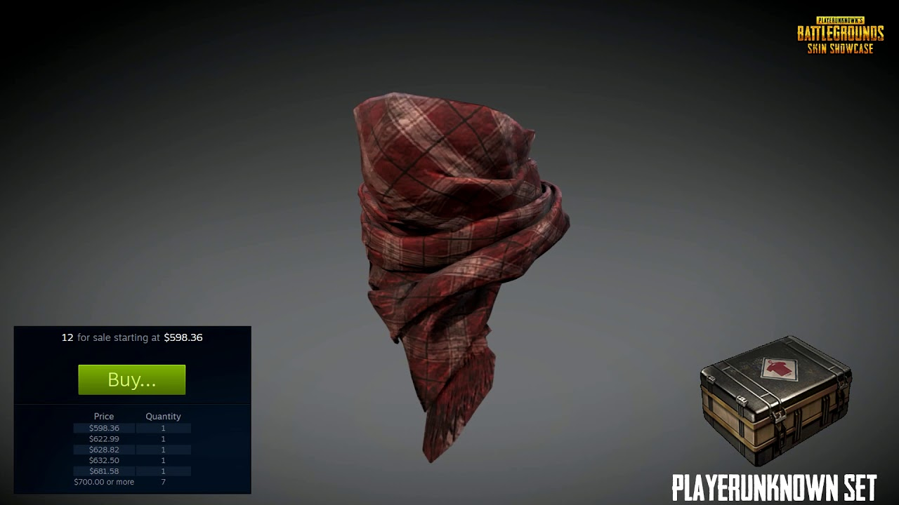 3d Model By Pubgshowcase: PLAYERUNKNOWN'S BANDANA