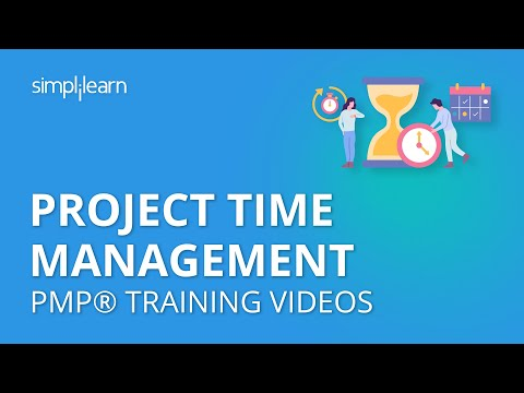 PMP Training Videos | Lesson 6: Project Time Management | Simplilearn