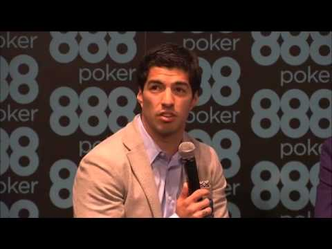 Luis Suarez 888poker Press Conference 14.5.14
