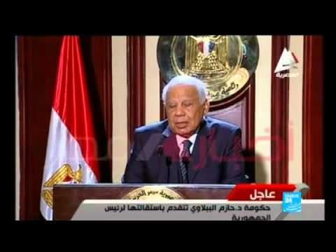 Egypt's interim government unexpectedly resigns