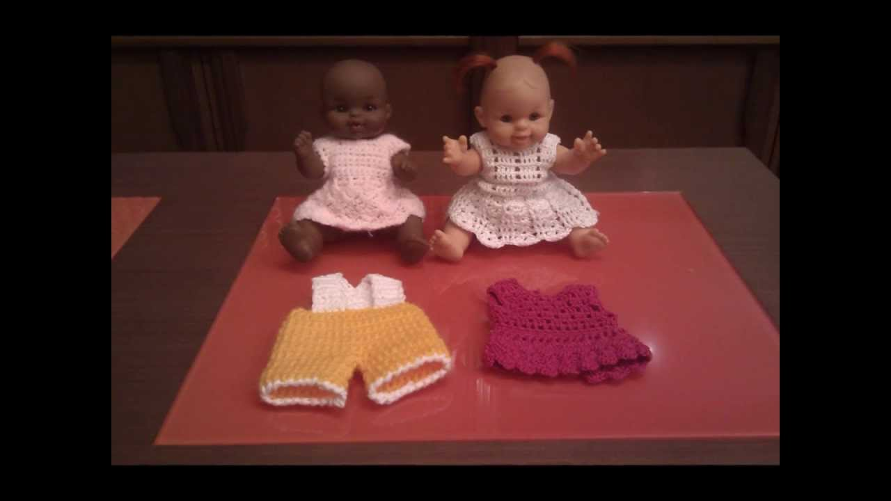 Crochet Poppenkleertjes Youtube
