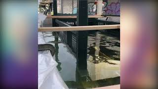 MTA testing flood barriers to seal offsubway entrances to avoid destruction from flooding