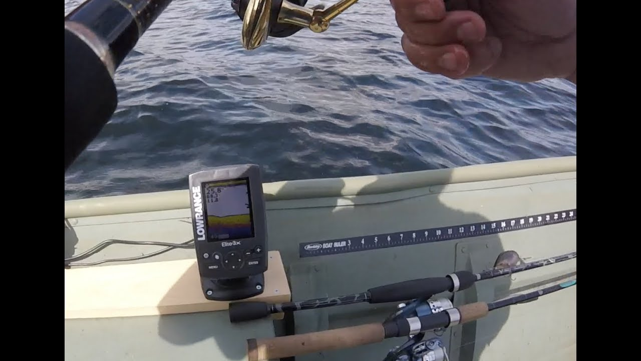 Installing a fish finder on the old jon boat youtube for Fish finder for jon boat
