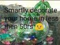 cheap craft ideas for home decor