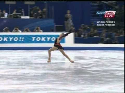 [UK Eurosports]Yu-Na Kim - 2007 World Figure Skating Championships SP
