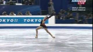 [UK Eurosports]Yu-Na Kim - 2007 World Figure Skating Championships SP