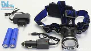 FA-XQ-24 T6 - обзор светодиодного фонарика(, 2015-12-01T06:00:01.000Z)