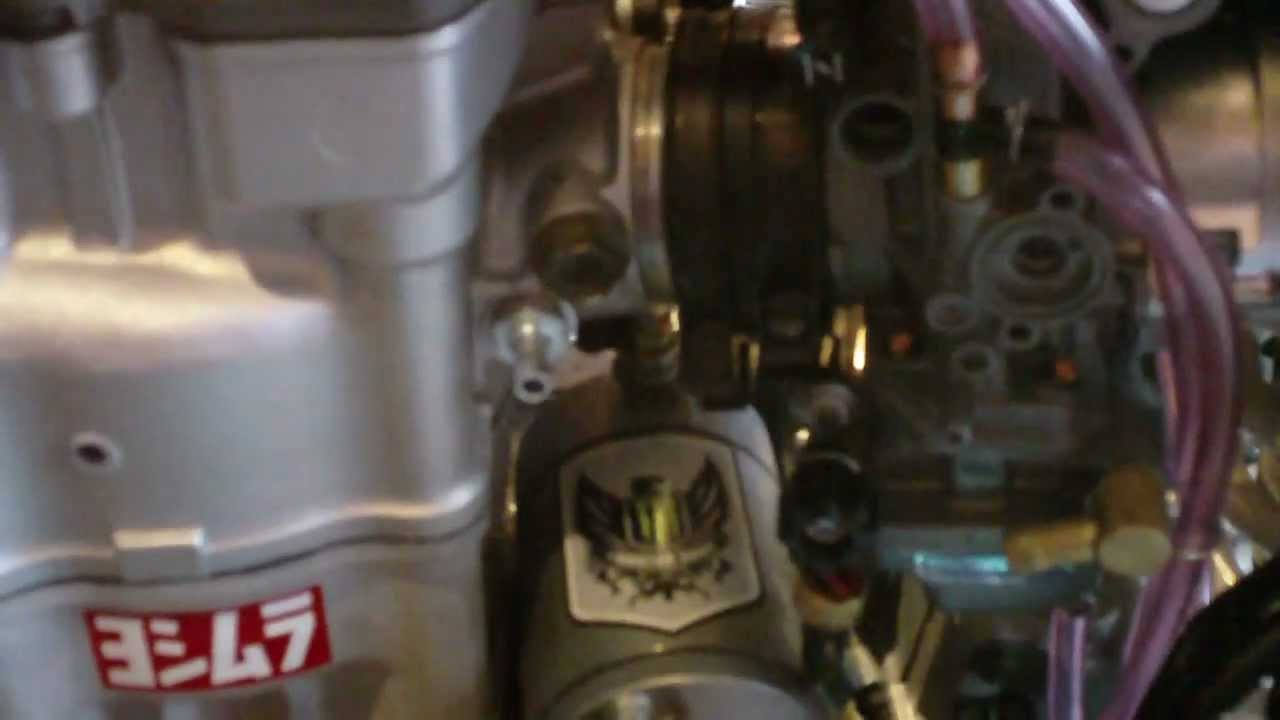 ( # 1 ) how to install a fcr 39 carb onto a drz 400 ( part 1 )