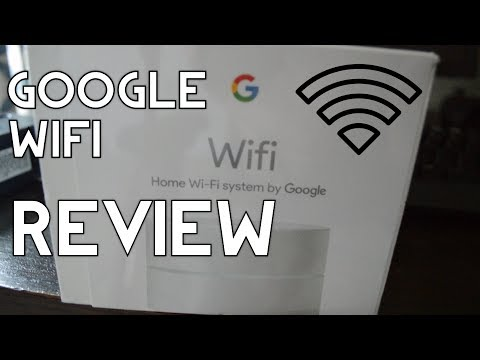 GOOGLE WIFI REVIEW AND SETUP