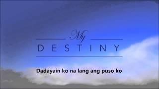 Jennylyn Mercado | Kaya Ko Na I My Destiny theme song I LYRIC Video