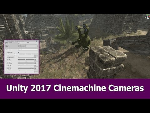 Unity 2017 Cinemachine / Timeline Tutorial: Virtual Camera