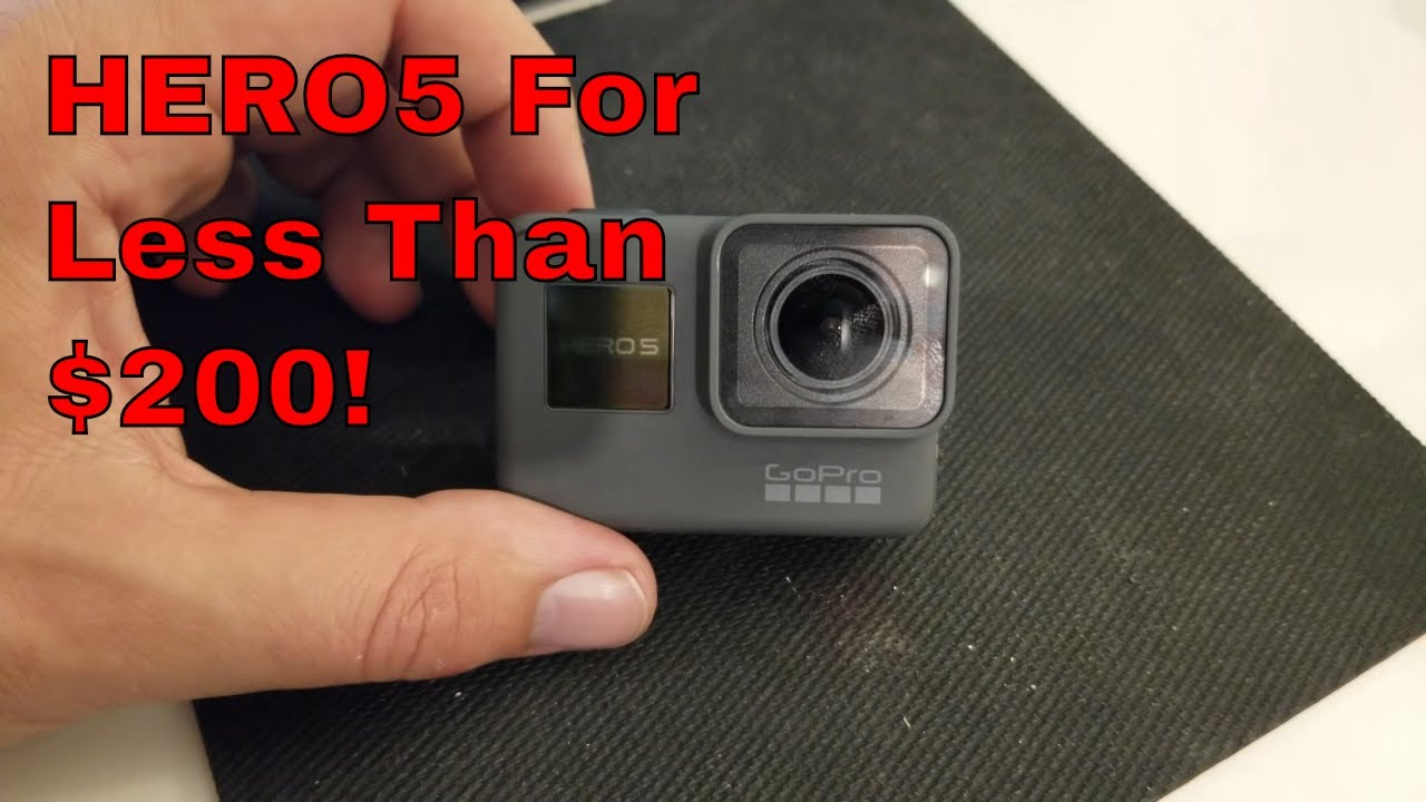 GoPro HERO 2018 Converted to a HERO5