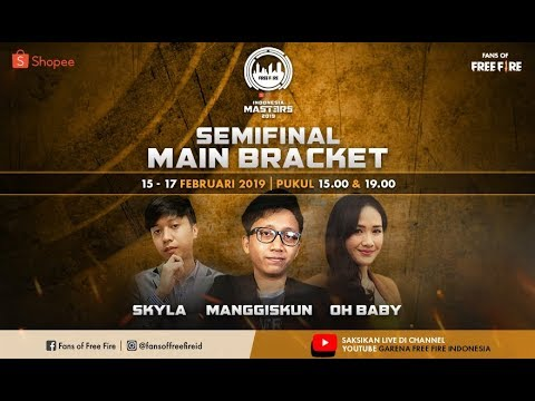 [2019] Semi Finals Main Bracket A Free Fire Shopee Indonesia Masters