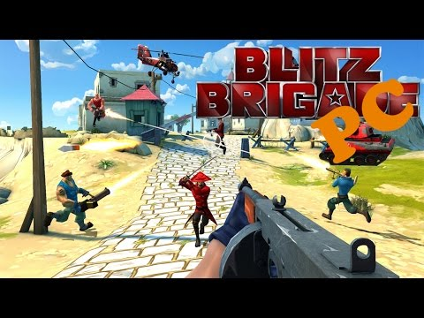Blitz Brigade PC Gameplay #1