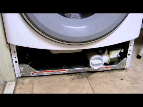 Front Load Washer Won T Spin Out Clothes Pump Cleanout