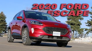 2020 Ford Escape - Test Drive