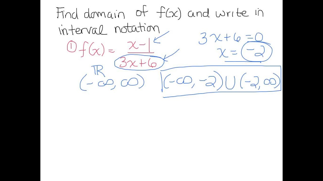 how to write an answer in interval notation
