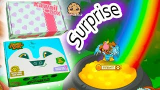 What's Inside? Monthly Animal Jam & Kawaii Surprise Mystery Box + Online Game Play Video