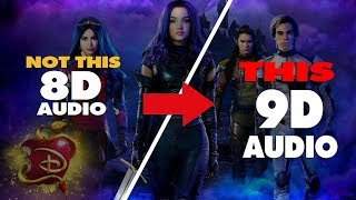 "Sarah Jeffery - Queen of Mean (From ""Descendants 3"") { 9D AUDIO 