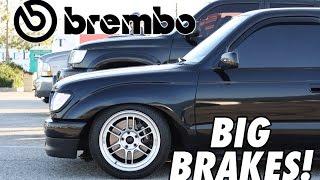 Toyota Tacoma DIY Brembo Big Brake Kit (5 Lug)
