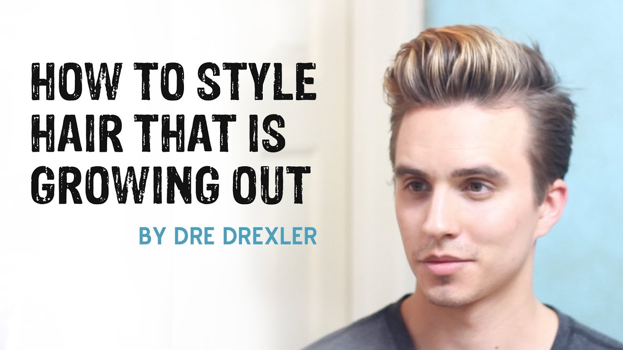 How To Style Hair Growing Out  Ditching the Undercut  Men39;s