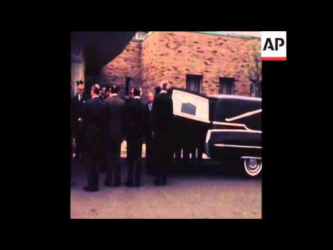 SYND 9-9-72 ISRAELI ATHLETE BERGER FUNERAL