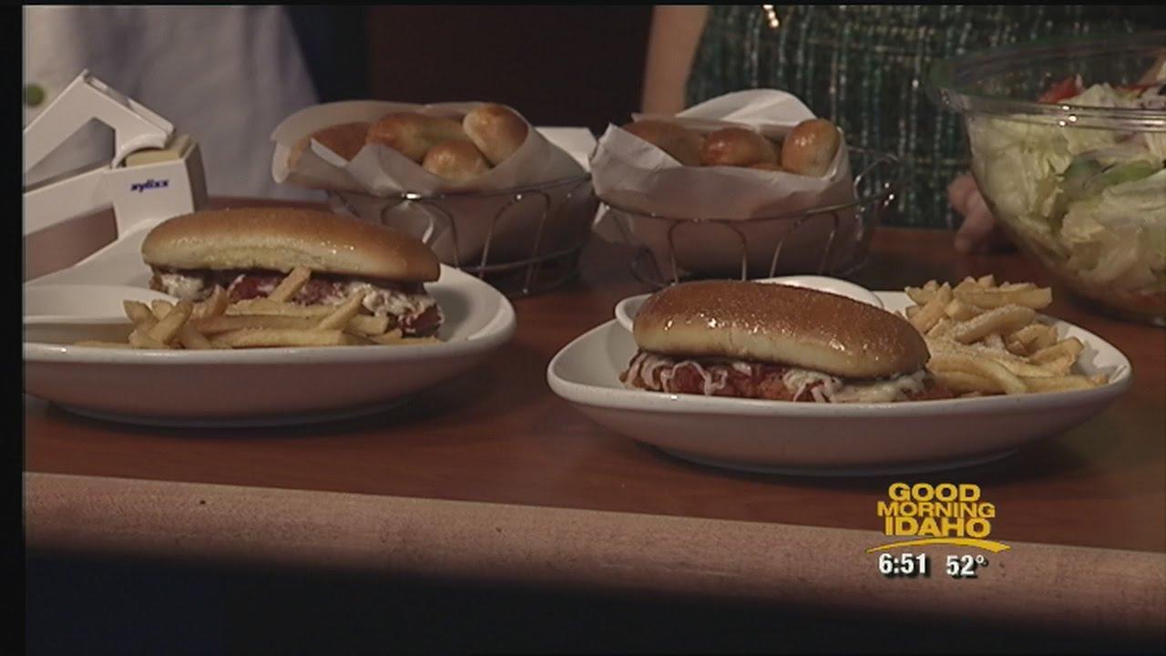 Olive Garden unveils new bread stick sandwiches - YouTube