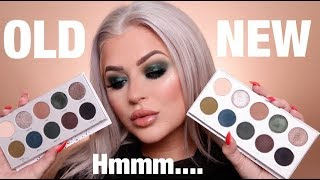 JACLYN HILL x MORPHE VAULT OLD vs NEW   Has It Changed?