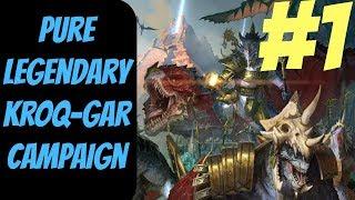 Baixar Pure Legendary Lizardmen Campaign #1 (Kroq) -- Total War: Warhammer 2