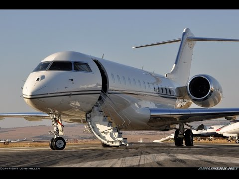 Global Express Landing Takeoff Dutchess County Airport