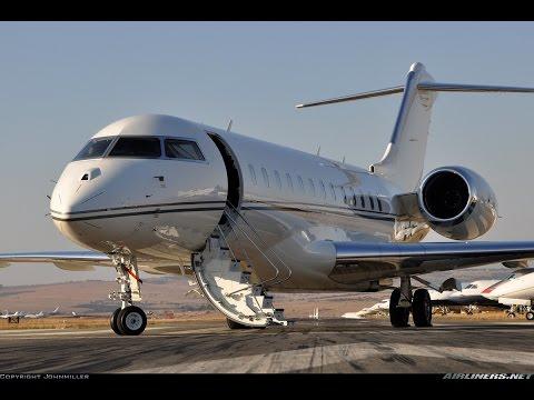 Global Express Landing Takeoff Dutchess County Airport