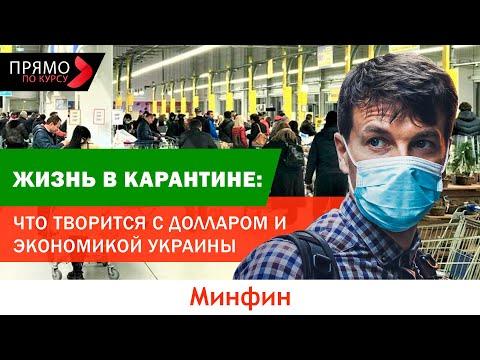 Жизнь в карантине: что творится с долларом и экономикой Украины