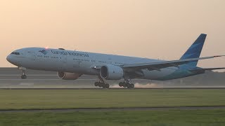 +15 Min Early Morning Landings 2x A350, B777, B747, A330