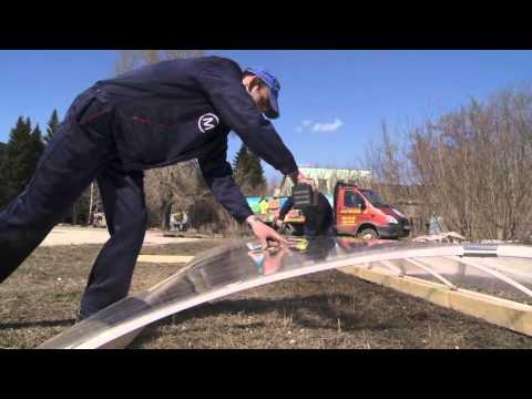 видео: Теплицы Умница с открывающейся крышей